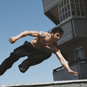 David Belle, a pioneering traceur